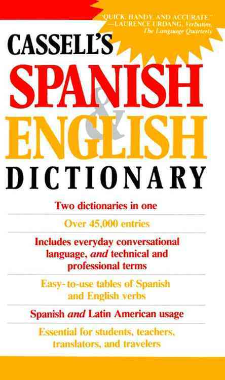 Dic Cassell's Spanish and English Dictionary By Dutton, Brian/ Harvey, L. P./ Walker, Roger M. (COM)